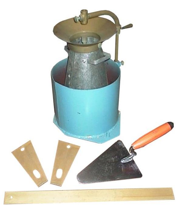 Определение подвижности бетонной смеси прибор купить бетон в снежинске